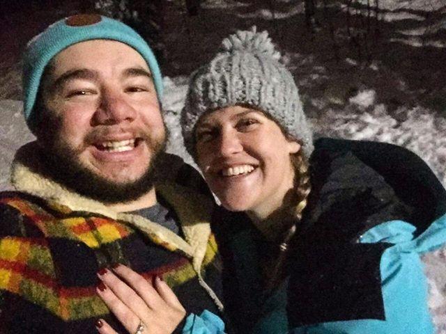 Jayde Kari got proposed at the Arctic Circle in Rovaniemi Lapland Finland