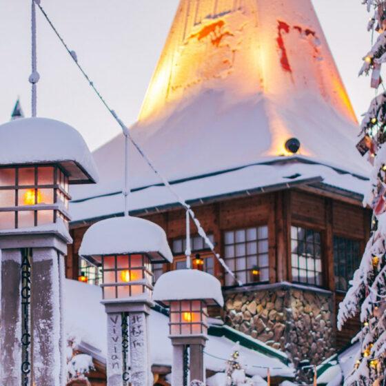 Joulupukin Pajakyla Rovaniemi Lapin Paakaupunki