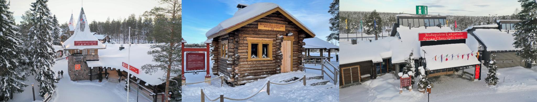 Joulupukin Pajakyla Santa Claus Village attractions