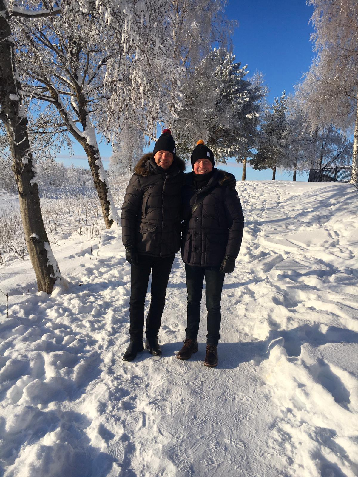 Kimmo Ketola ja Sami Riekki rakastuivat Rovaniemeen