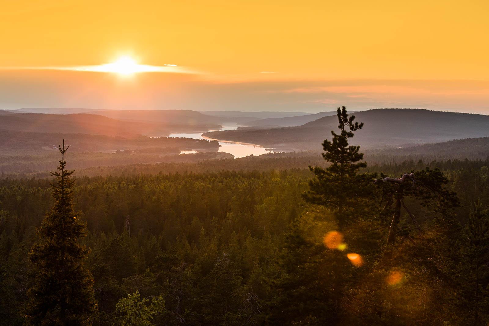 King's Lean-to in Rovaniemi Lapland Finland