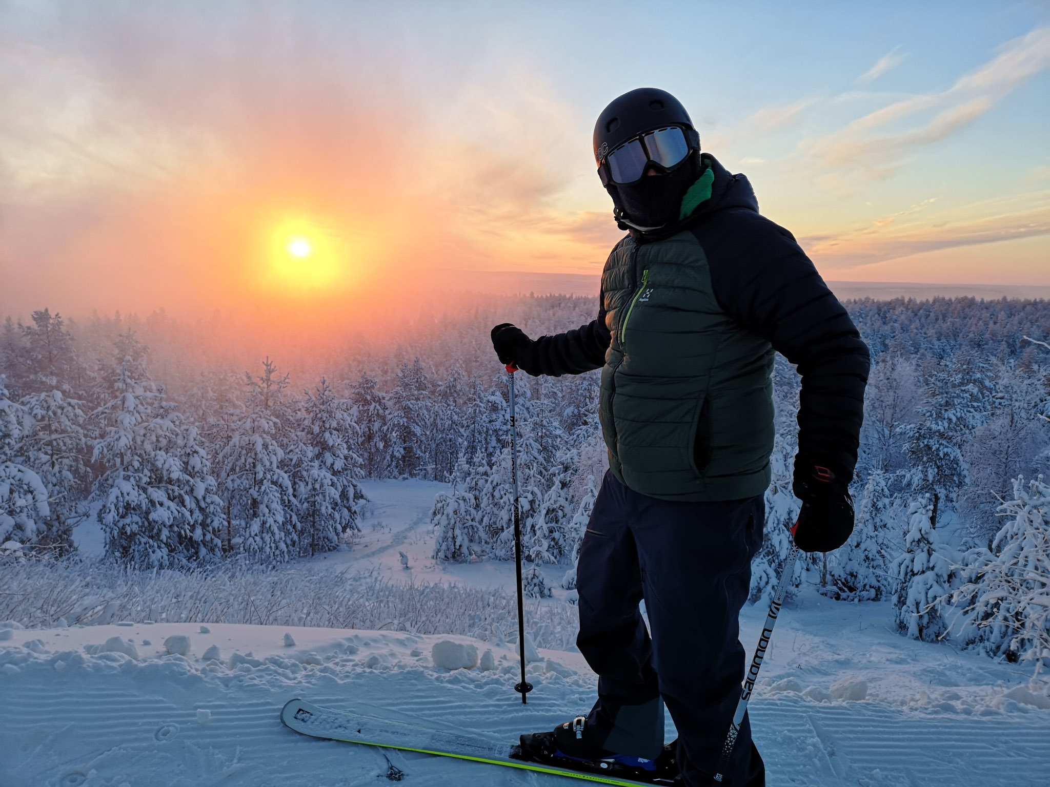 Kohteena maailma blogivierailu Rovaniemi