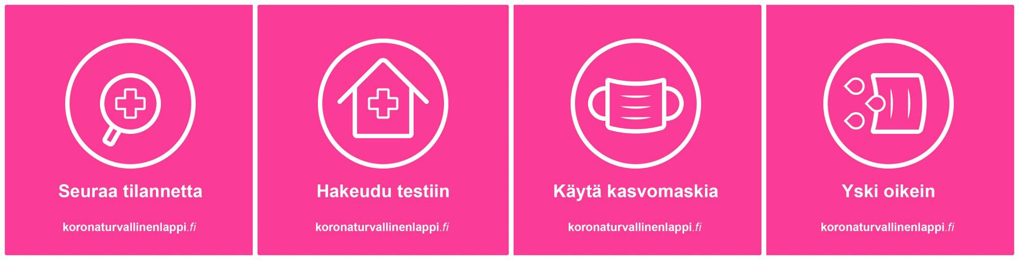 Koronaturvallinen Lappi Visit Rovaniemi matkaile Lapissa terveysturvallisesti