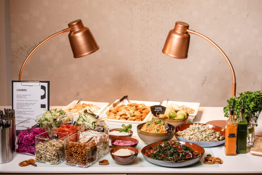 Korundi Kitchen and Cafe lounas