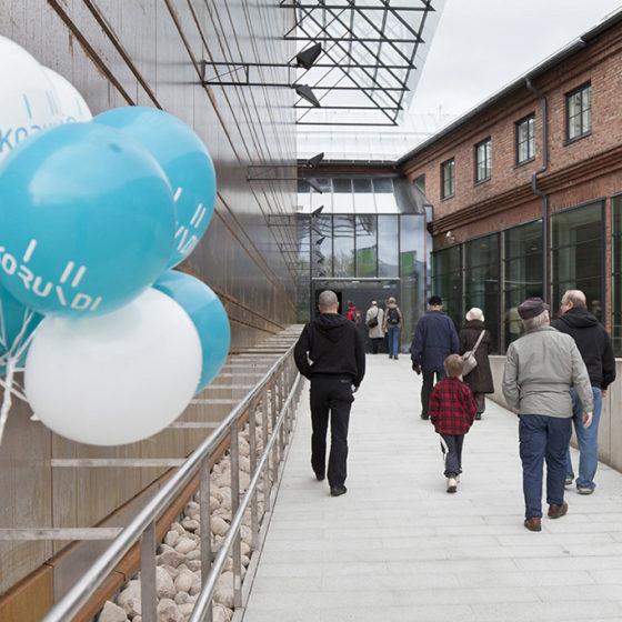 Kulttuuritalo Korundi Museoviikko 2018 Rovaniemellä