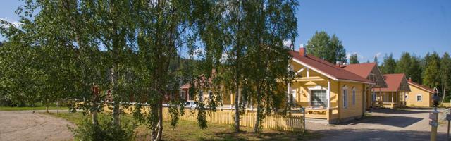 Lapland Hotels Ounasvaara Chalets in summer