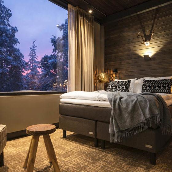 Lapland Hotels Sky Ounasvaara, Northern Comfort Double room, Rovaniemi, Lapland, Finland
