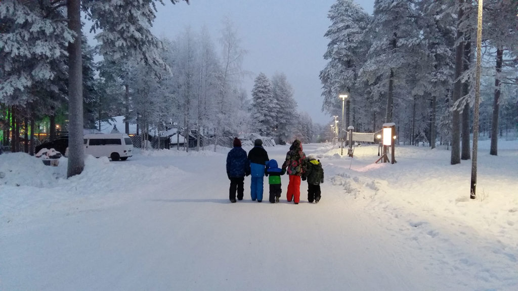 Rovaniemi, Lapland with children by Corrina Stone
