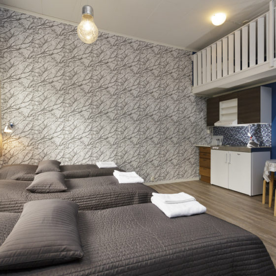 Room with kitchenette in Kolari, Finnish Lapland