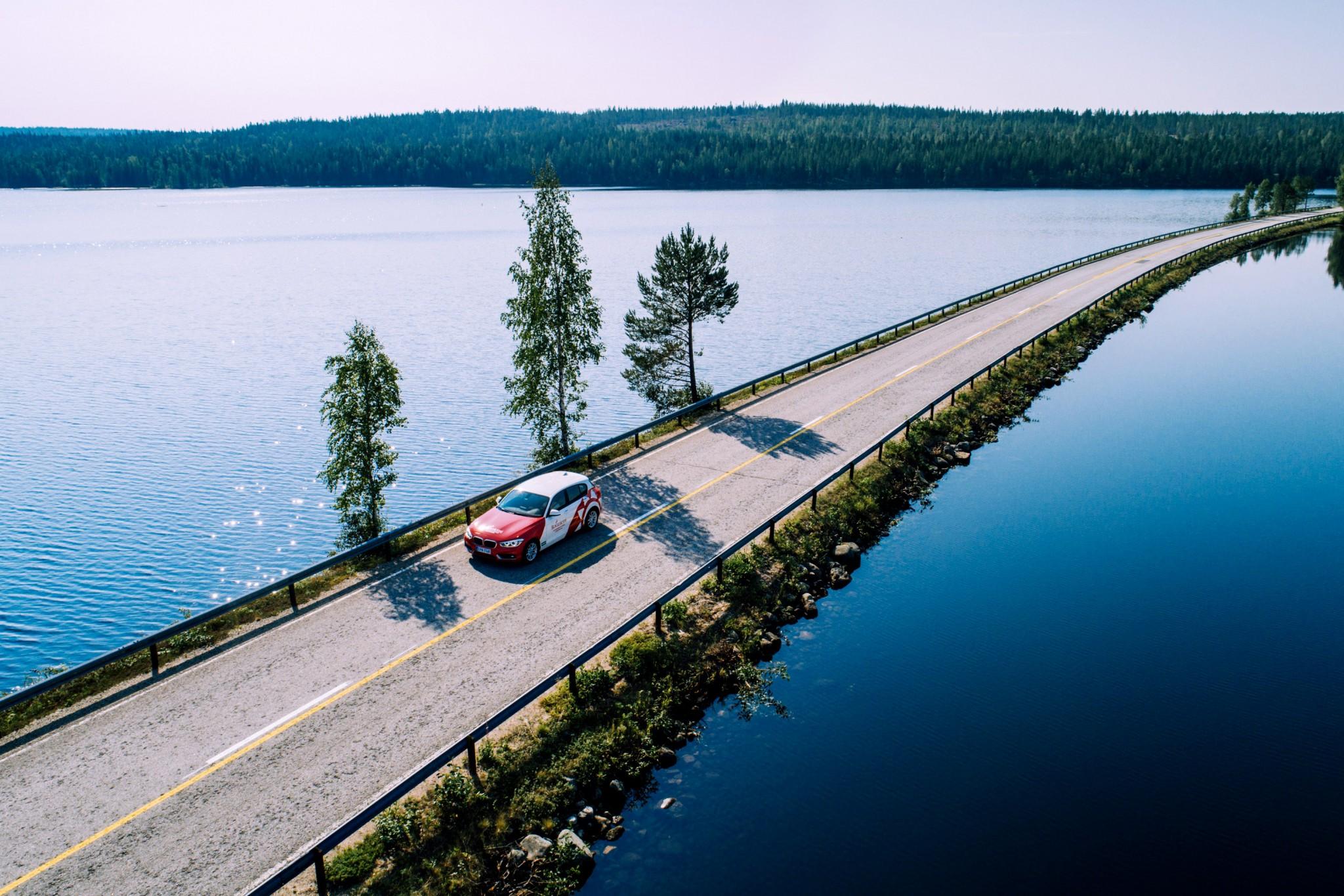 Suunnittele Lappi road trip autoillen tukikohtana Rovaniemi