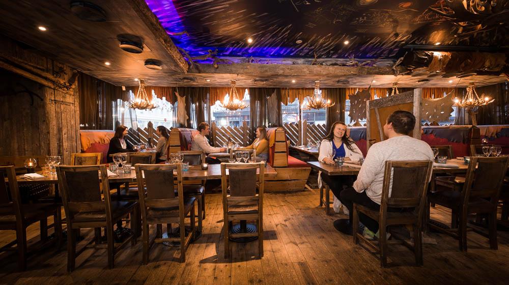 Lappish restaurant Nili, Rovaniemi, Lapland, Finland