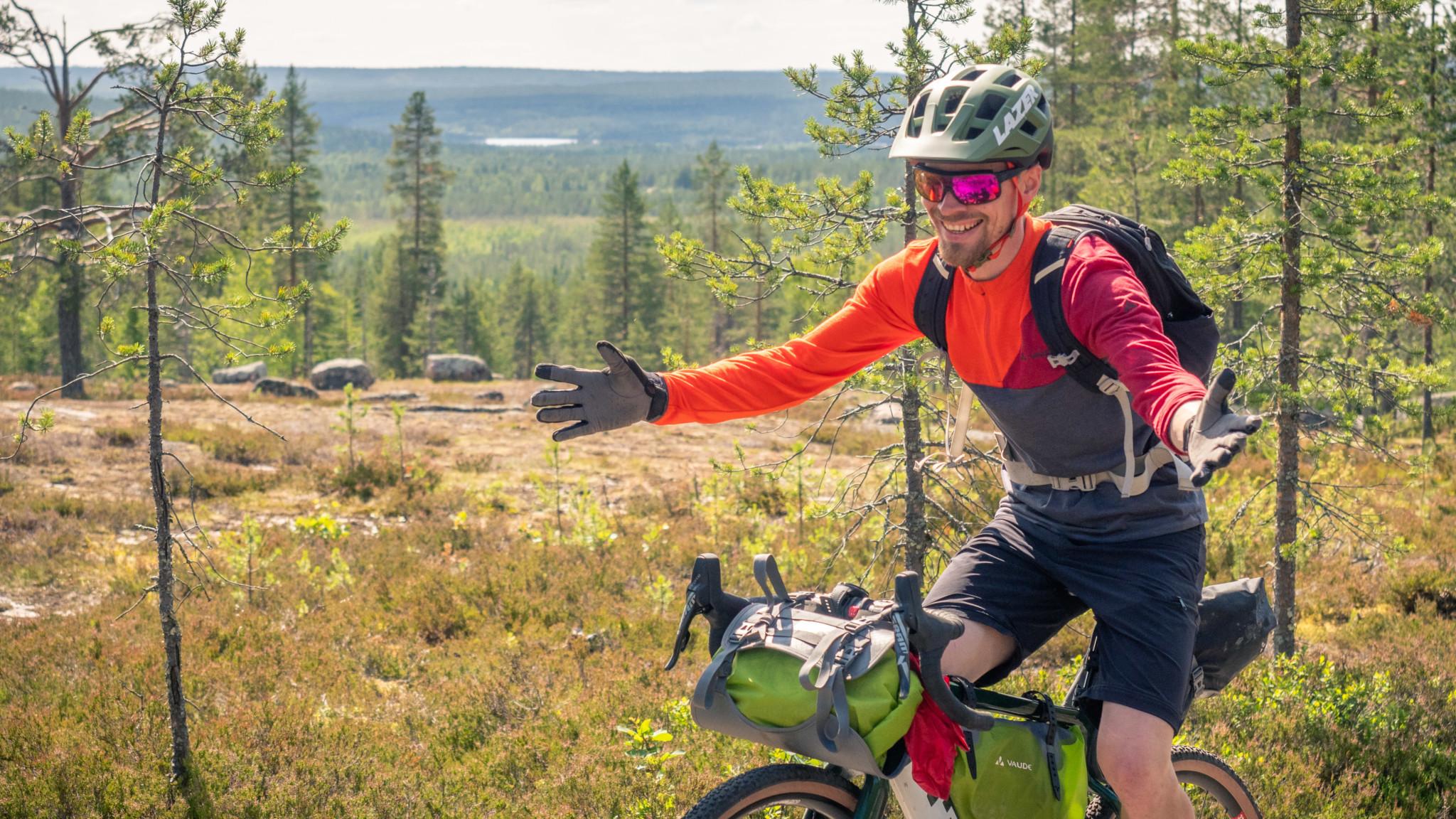mountainiking Rovaniemi Lapland Finland