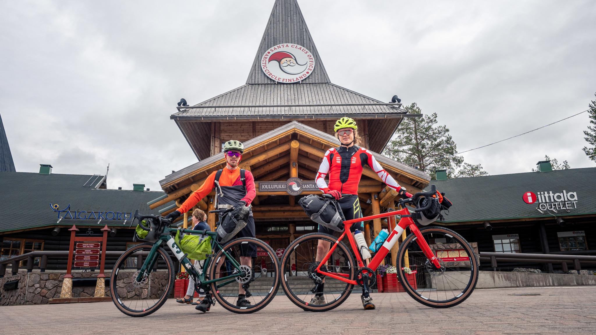 Mountainbiking Rovaniemi Lapland