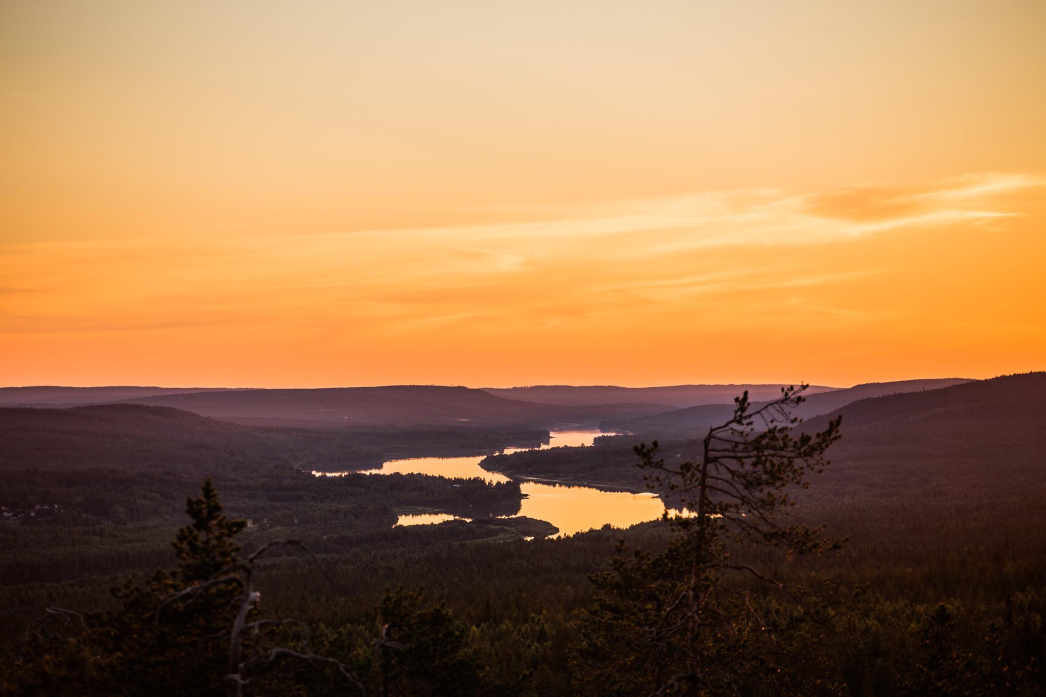 Midnight Sun, Rovaniemi, Finland