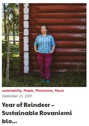Miia Merkku Arctic Reindeer blog series Rovaniemi