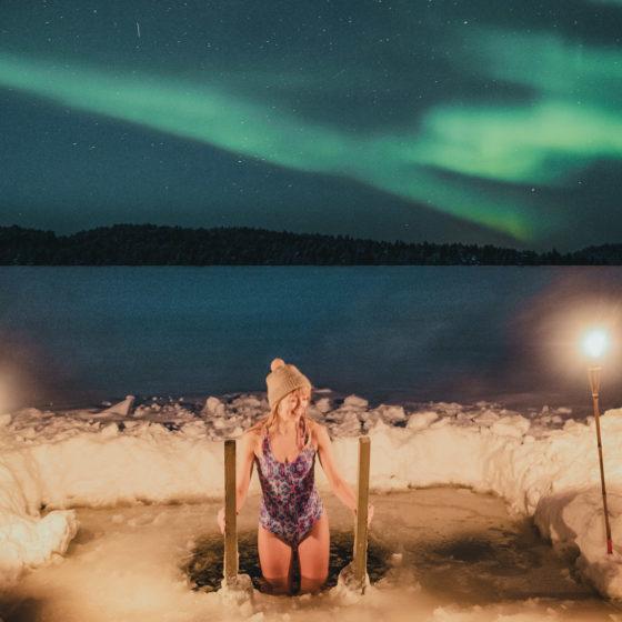 Northern Lights in Lapland Rovaniemi