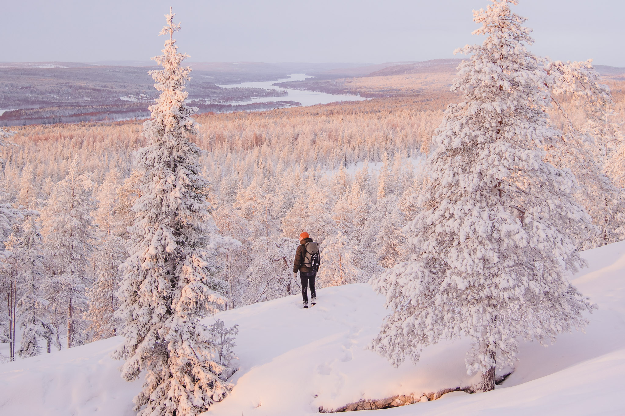 Winter and snow in Rovaniemi Lapland Toni Eskelinen