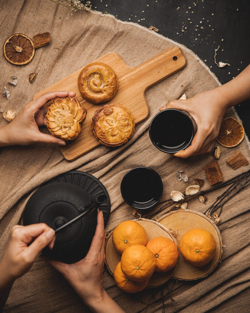 Moon cakes by Saigon Noodle Bar in Rovaniemi Lapland Finland