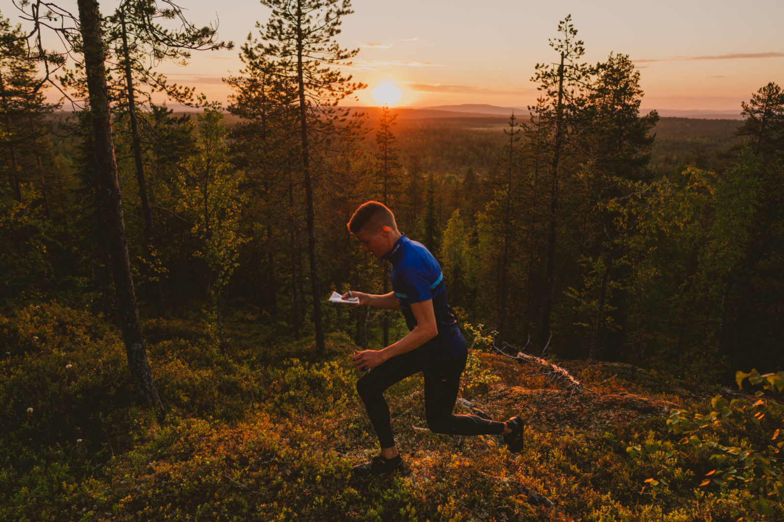 Orienteering in Rovaniemi Lapland Summer