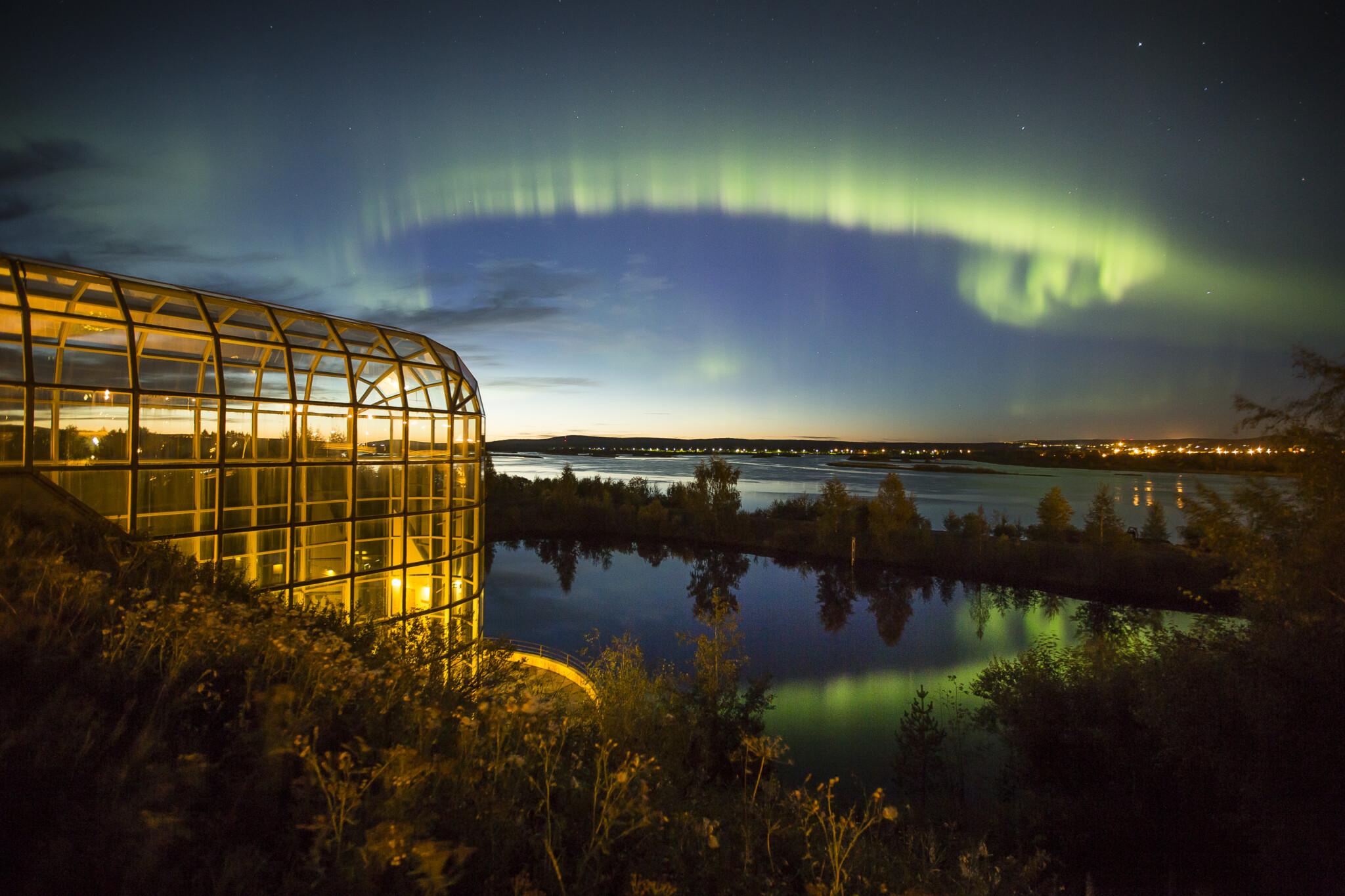 Visit Rovaniemi Arktikum and Northern Lights