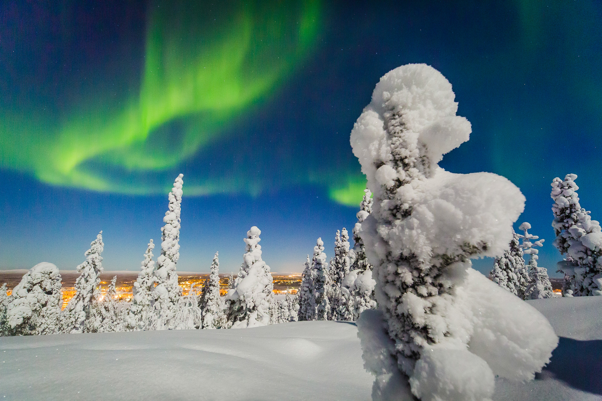 Northern Lights Rovaniemi Lapland