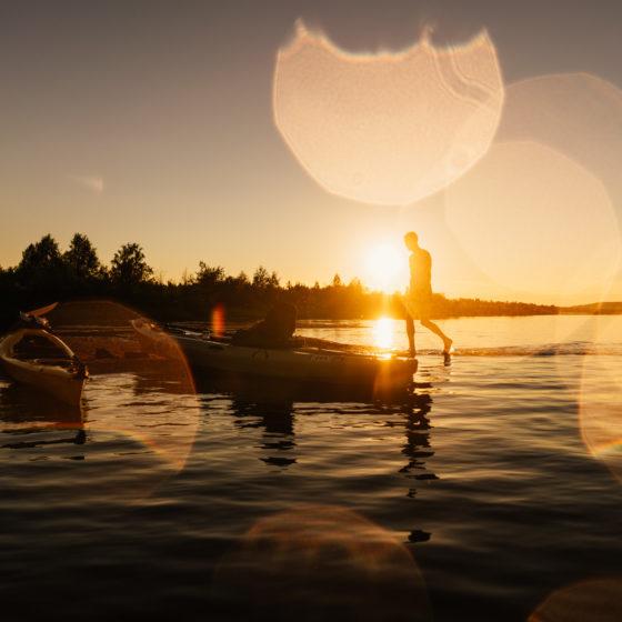 Ounasjoki, Rovaniemi, Lappi