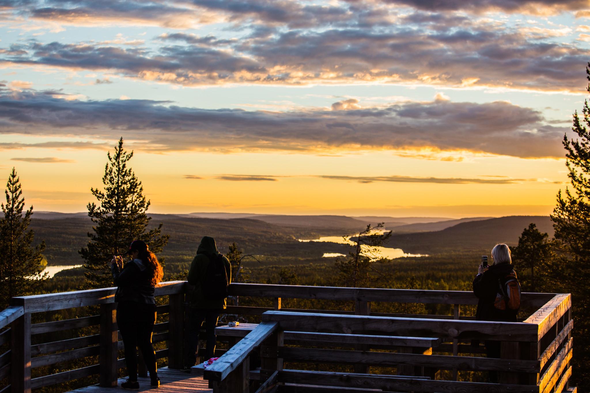Sightseeing, Ounasvaara, Rovaniemi