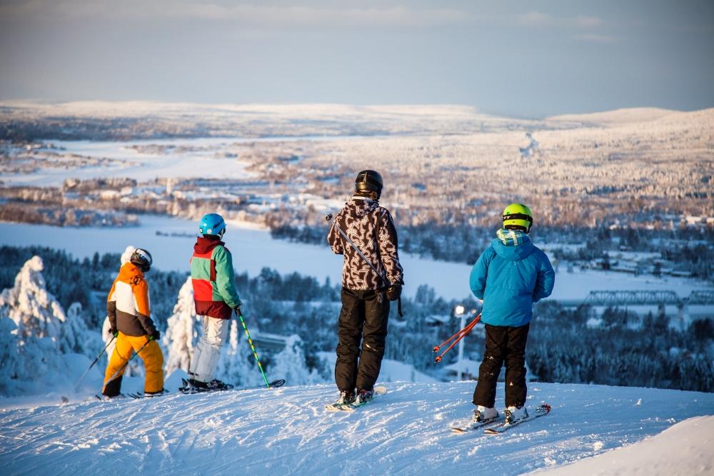 Ounasvaara Rovaniemi Lapland Finland