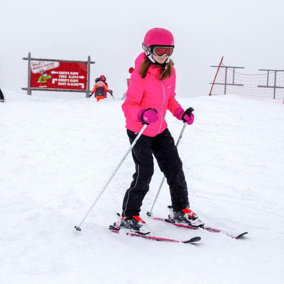 Ounasvaara Skiing Centre downhill skiing Rovaniemi Lapland Finland