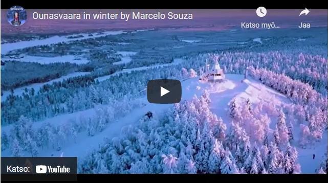 Ounasvaara in Winter by Marcelo Souza