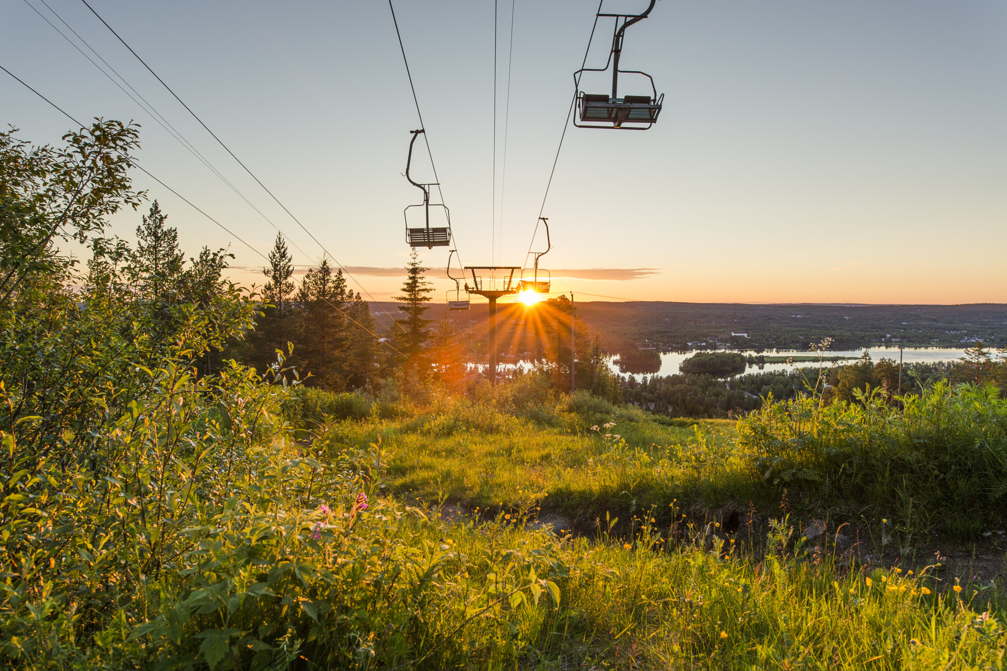 Ounasvaara ski resort in Rovaniemi Lapland Finland (1)
