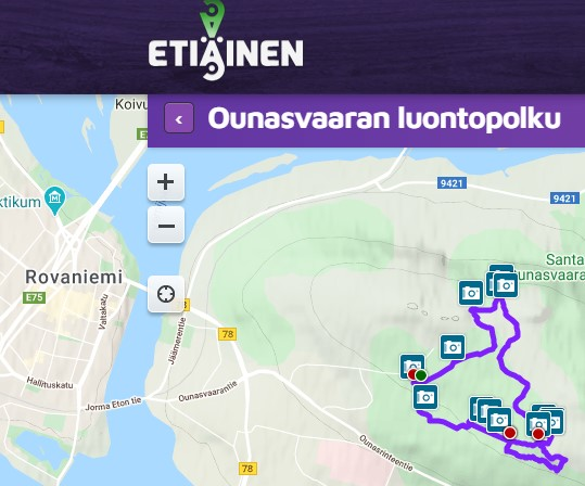 Etiäinen Ounasvaaran luontopolku Visit Rovaniemi