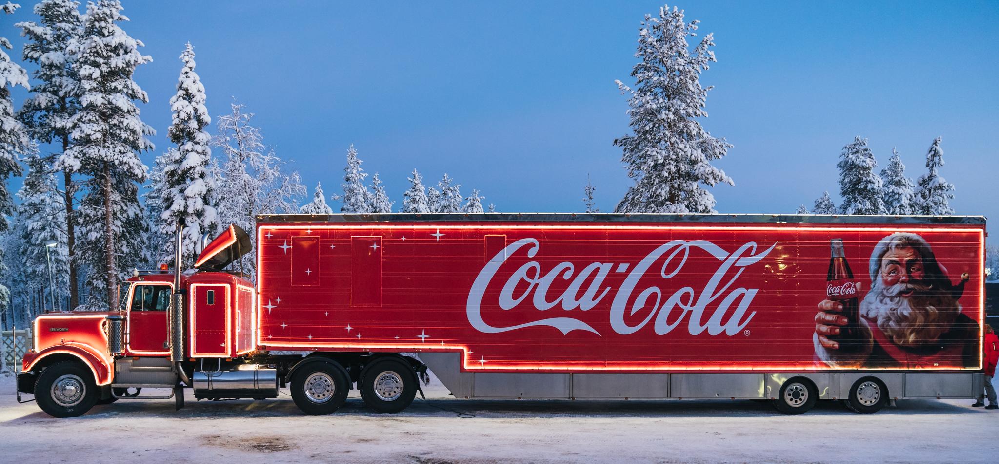 Coca-Cola in Rovaniemi, Lapland