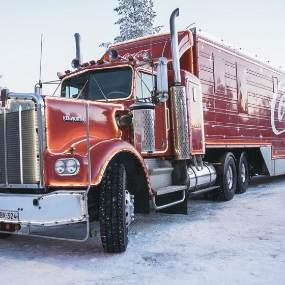 Coca-Cola joulurekka, Rovaniemi, Lappi