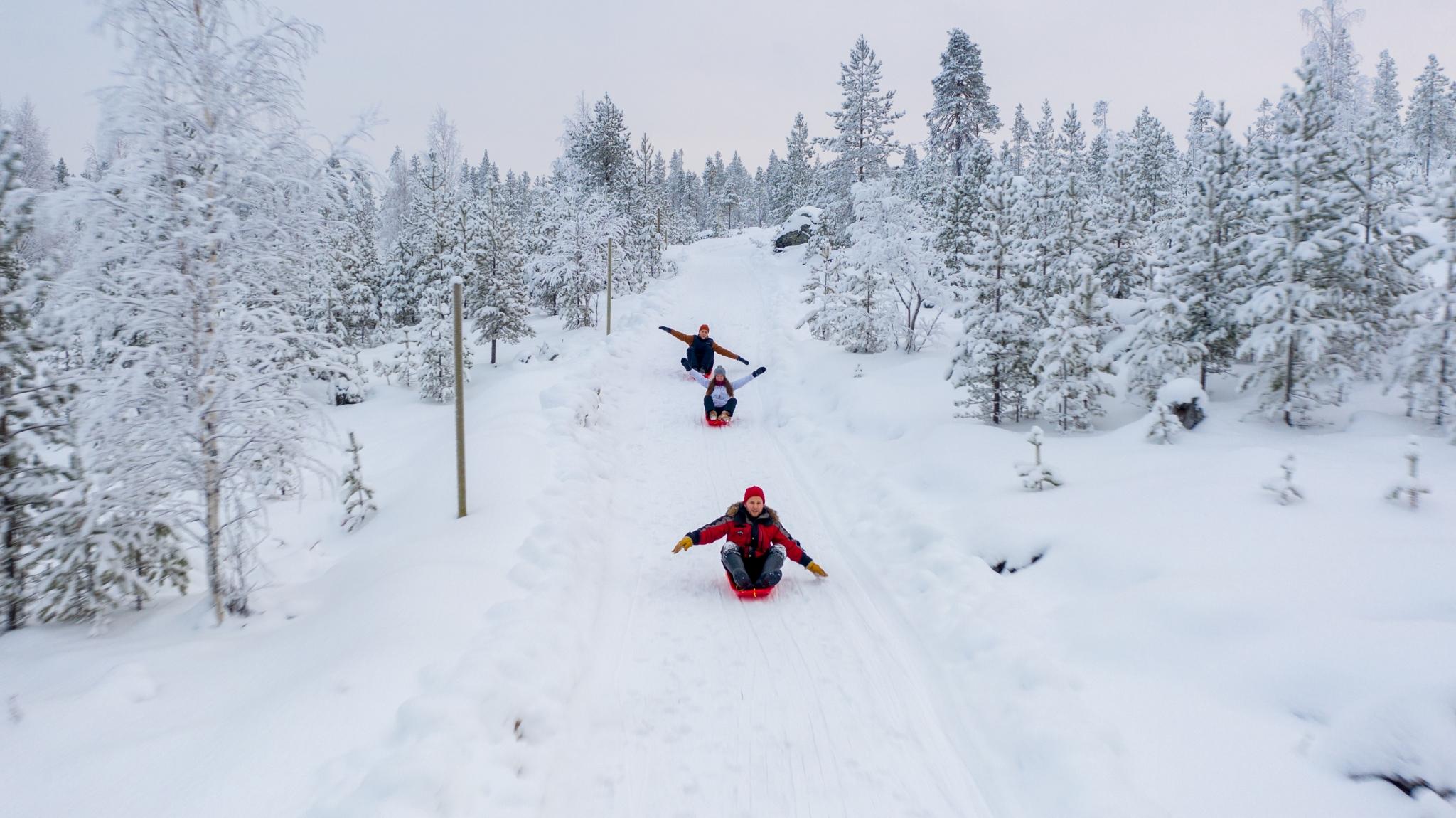 Pulkkamaki Santa Claus Reindeer, Rovaniemi, Lappi