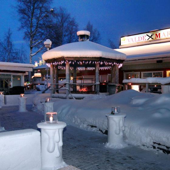 Restaurant Valdemari in Rovaniemi, Lapland, Finland