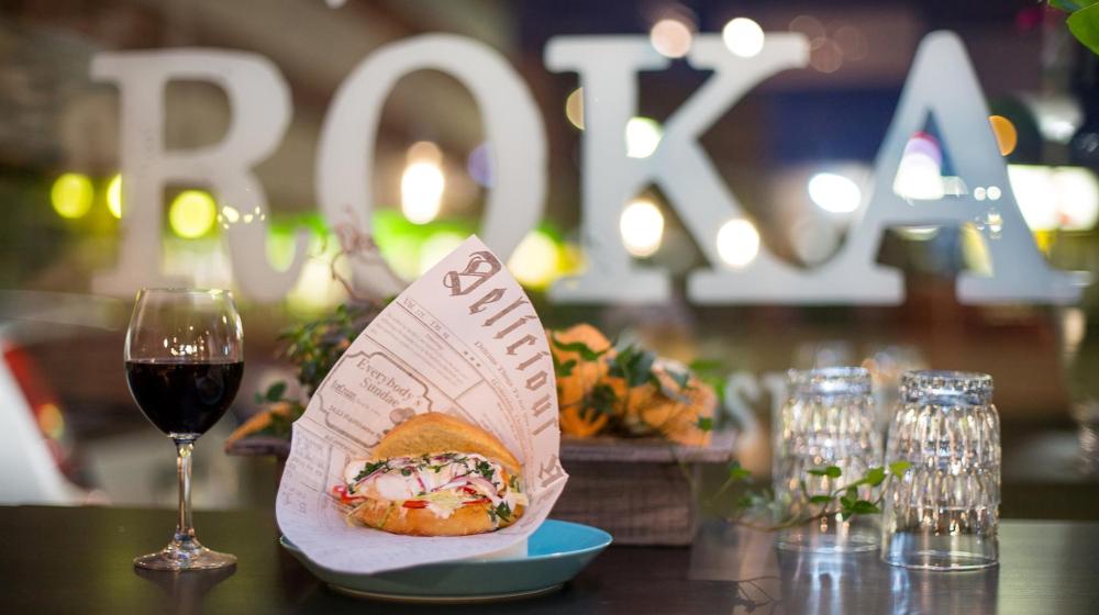 Roka Restaurant, Rovaniemi, Lapland, Finland