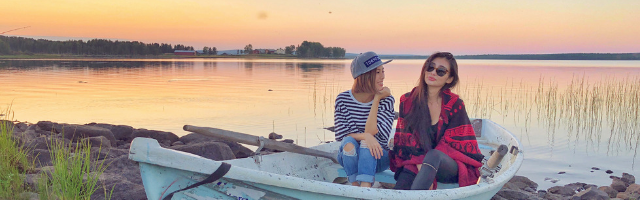Rovaniemi Summer Ambassador 2019 river experiences and summer landscapes in Rovaniemi, Lapland, Finland