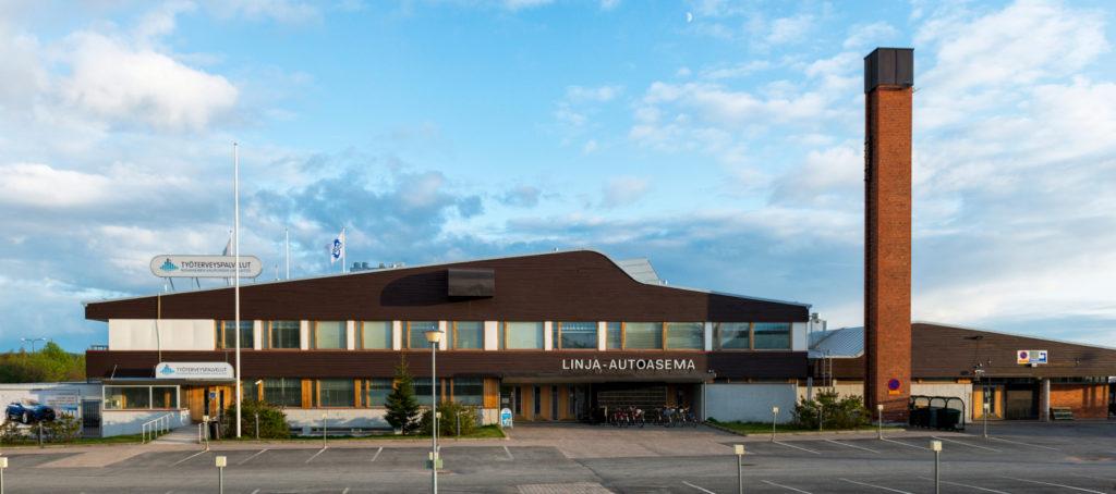 Rovaniemi bus station, Rovaniemi, Lapland, Finland