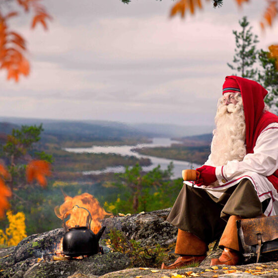 Autumn Colours in Rovaniemi Lapland Finland The Official Hometown of Santa Claus