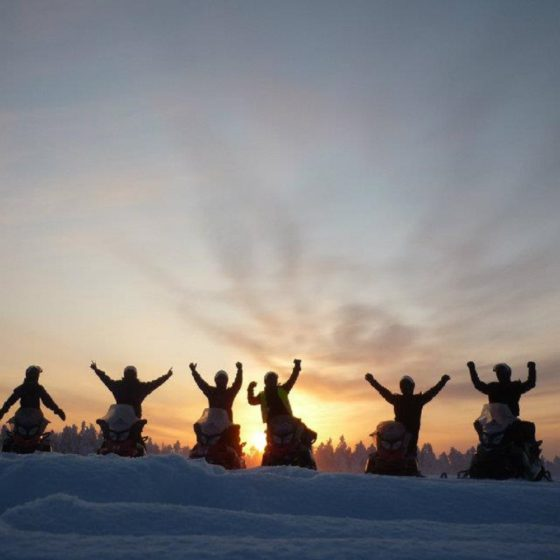 Snowmobile safaris with Safartica in Rovaniemi, Lapland, Finland