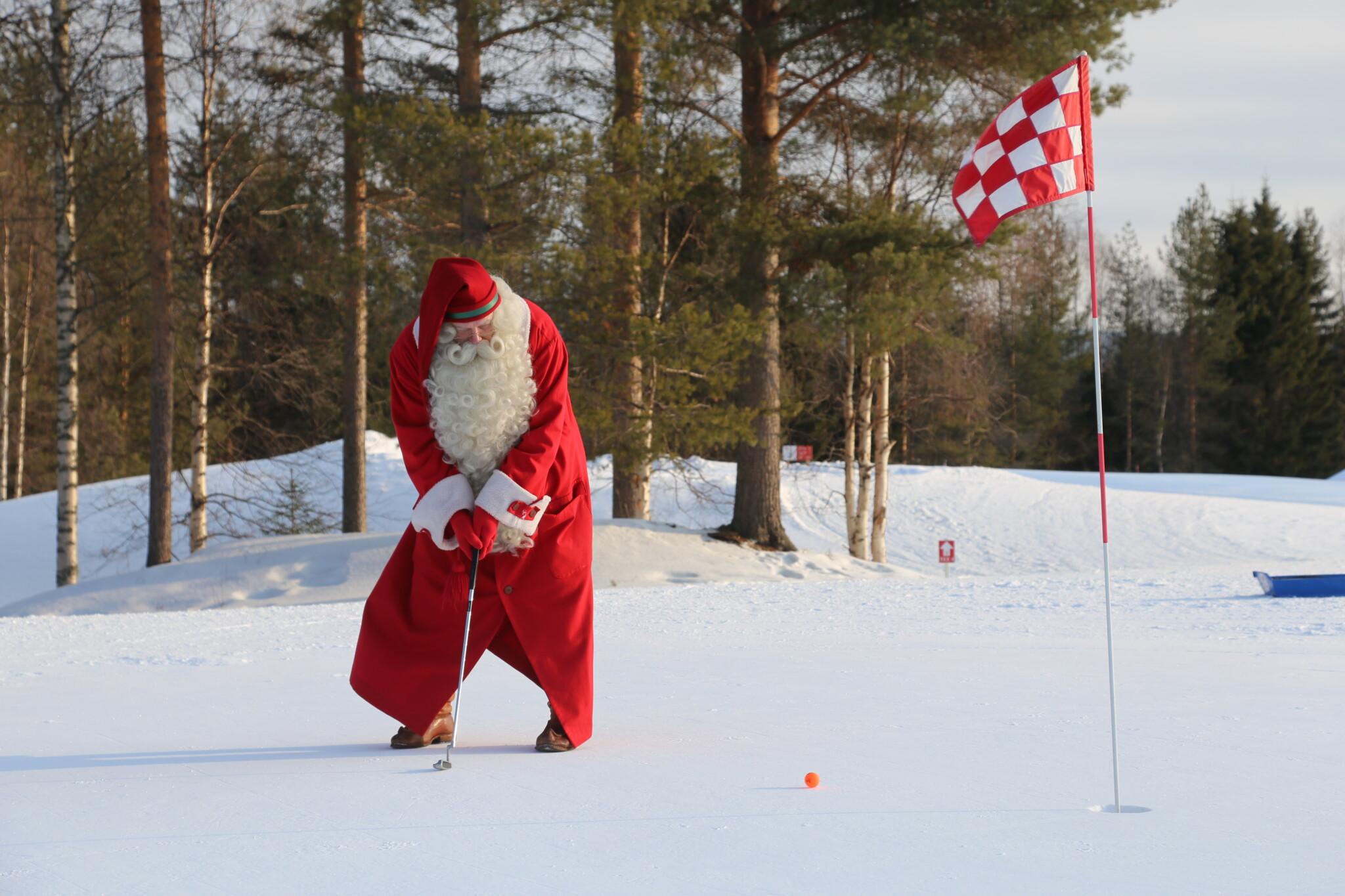 Santa Claus Golf Rovaniemi Lapland Finland