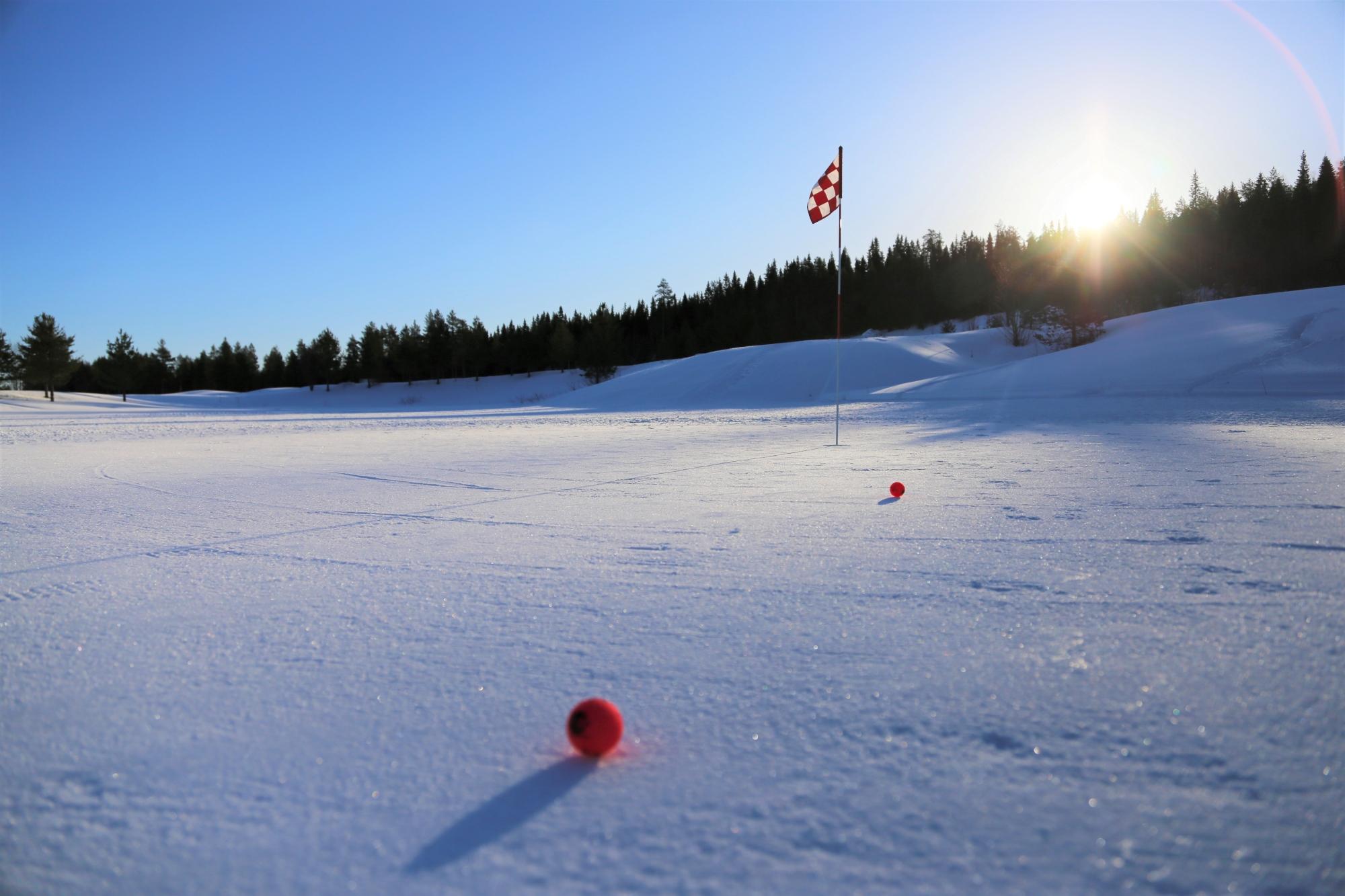Santa Claus Golf talvigolf, Rovaniemi, Lappi