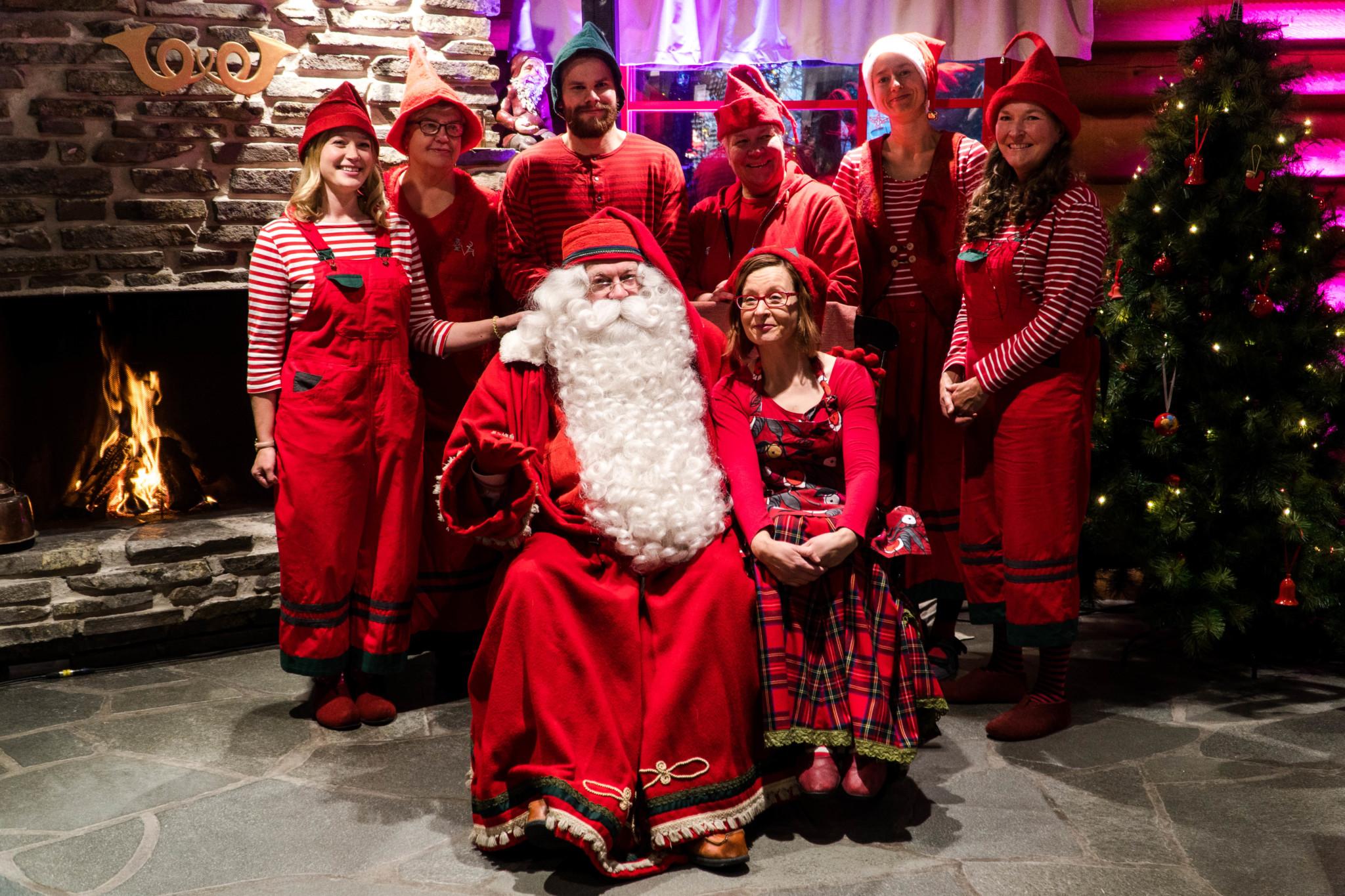 Santa Claus Main Post Office in Rovaniemi Lapland Finland