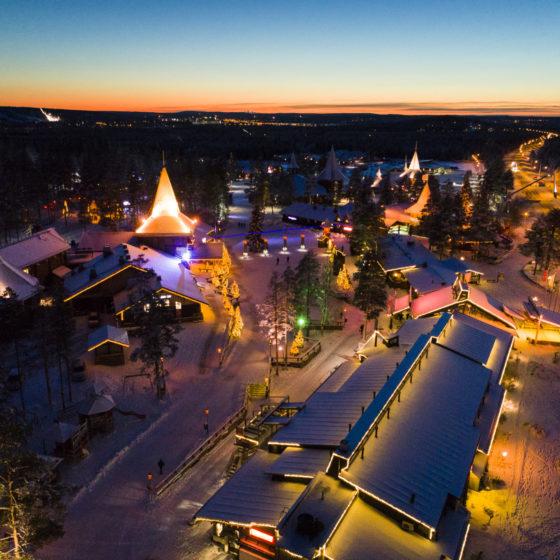Joulupukin Pajakylä, Rovaniemi, Lappi