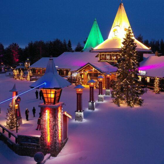 Santa Claus Village in Rovaniemi Lapland Finland