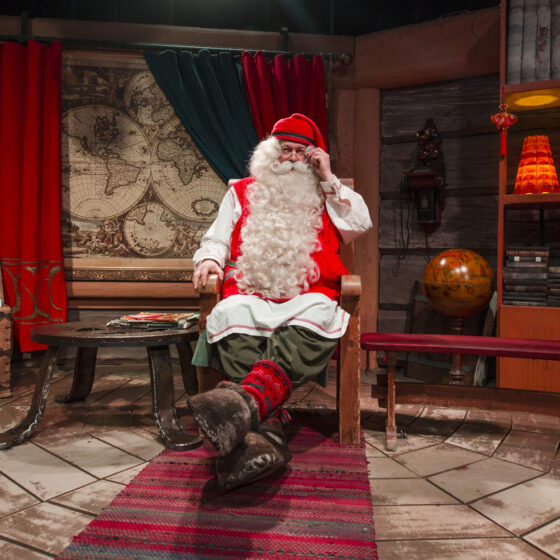 Santa Claus by Alexander Kuznetsov, All About Lapland. www.allaboutlapland.fi