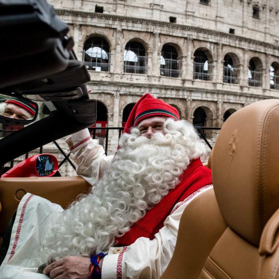 Joulupukki Roomassa