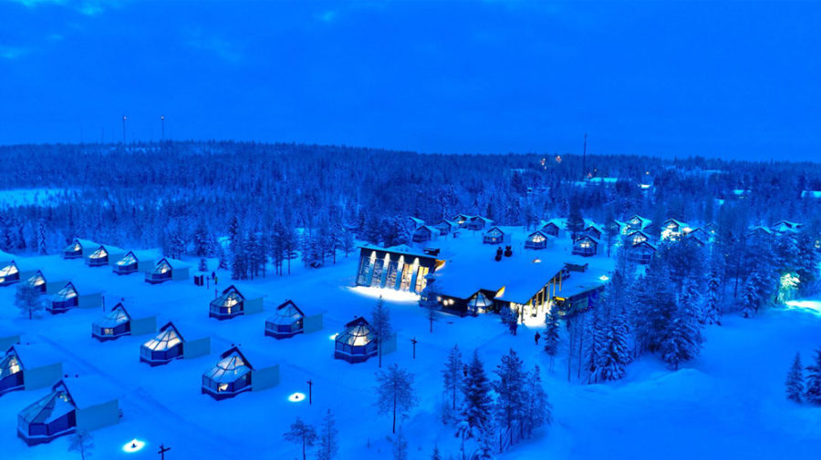 Santa's Igloos Arctic Circle and Restaurant Arctic Eye