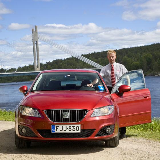 Scancar car rental in Rovaniemi, Lapland, Finland